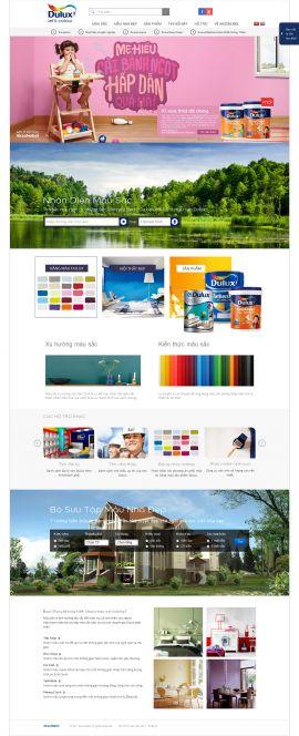 Mẫu website giới thiệu công ty 10234