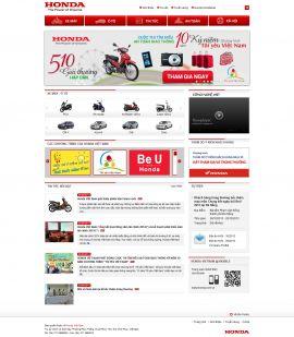 Mẫu website giới thiệu xe 10255