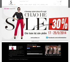 Mẫu website thời trang 10343