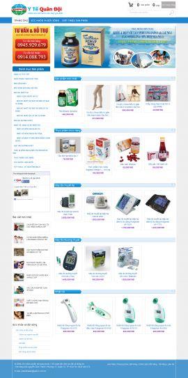 Mẫu website thiết bị y tế 10454