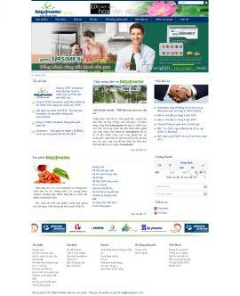 Mẫu website giới thiệu công ty 1096