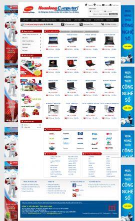 Mẫu website thương mại điện tử 10194