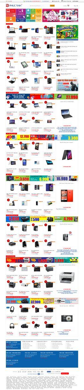 Mẫu website thương mại - điện tử 10195