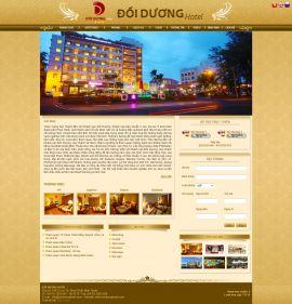 Mẫu website giới thiệu khách sạn 10216