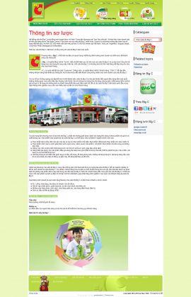 Mẫu website thực phẩm 10304