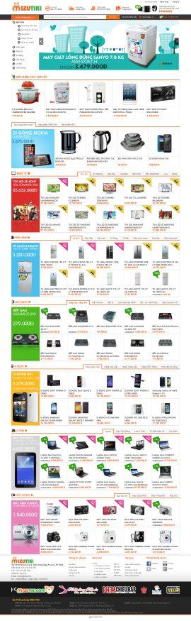 Mẫu website thương mại - điện tử 1047