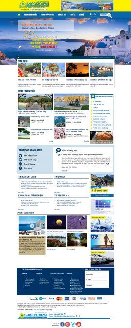Mẫu website du lịch 1058