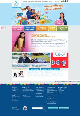 Mẫu website trung tâm anh ngữ 1078