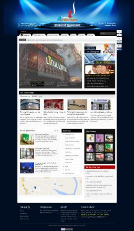 Mẫu website thiết kế quảng cáo 10139