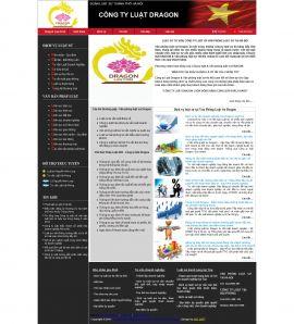 Mẫu website luật 10177