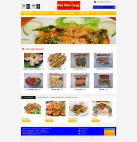Mẫu website thực phẩm 10306