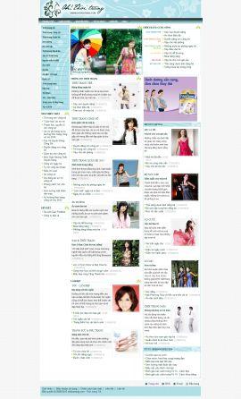 Mẫu website thời trang 10346