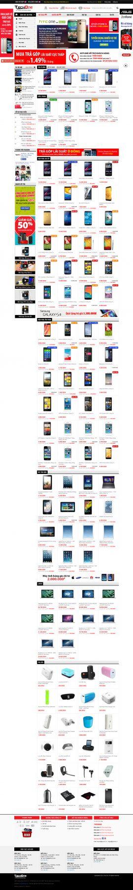 Mẫu website bán linh kiện điện tử 1011