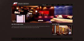 Mẫu website thi công nội thất và xây dựng 10219