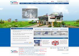Mẫu website giới thiệu công ty 10238