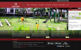 Mẫu website giới thiệu công ty 10100