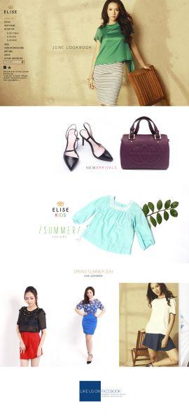 Mẫu website thời trang 10347