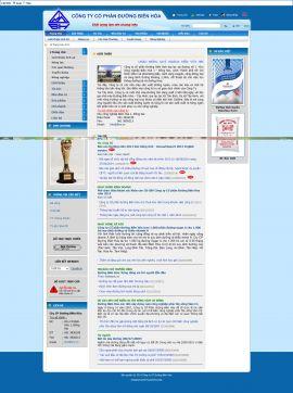 Mẫu website giới thiệu sản phẩm 10101
