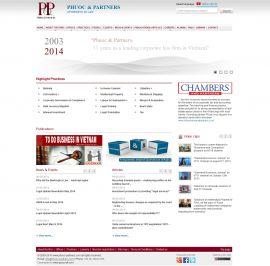 Mẫu website luật 10180