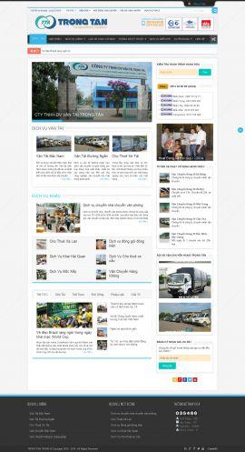 Mẫu website vận chuyển 10427