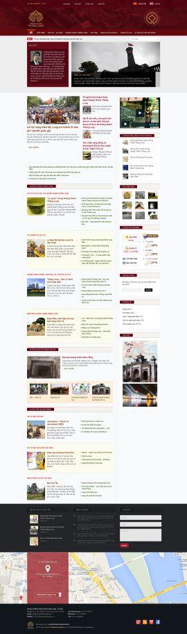 Mẫu website giới thiệu 10161