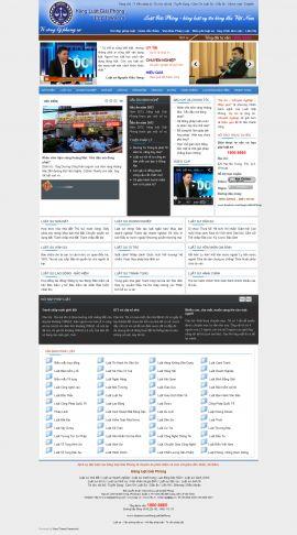 Mẫu website luật 10182