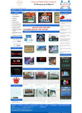 Mẫu website thiết kế quảng cáo 10144