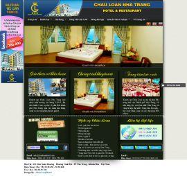 Mẫu website giới thiệu khach sạn 10222