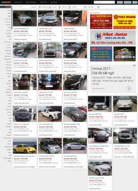 Mẫu website Ôtô 10262