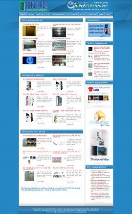 Mẫu website thiết kế quảng cáo 10145