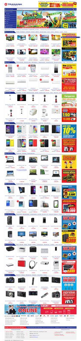 Mẫu website bán linh kiện điện tử  1016