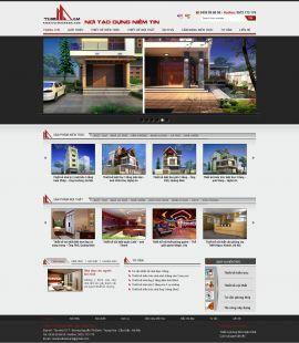Mẫu website thiết kế nội thất 10164