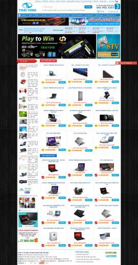 Mẫu website bán linh kiện điện tử 10203