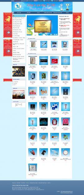 Mẫu website quà tặng 10282
