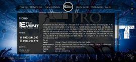Mẫu website Event 10391
