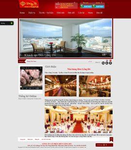 Mẫu website giới thiệu khach sạn 10224