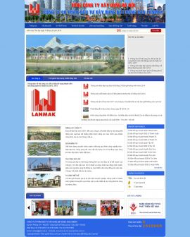 Mẫu website bất động sản 1035