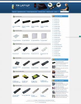 Mẫu website bán linh kiện máy tính 10205