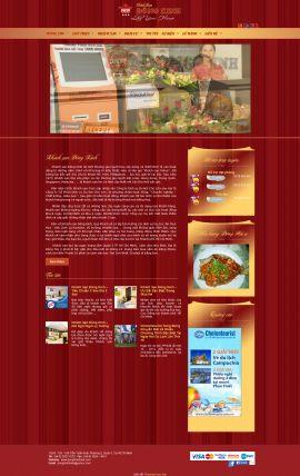 Mẫu website giới thiệu khách sạn 10225