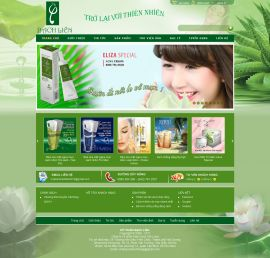 Mẫu website mỹ phẩm 10474