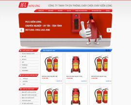Mẫu website phòng cháy chữa cháy 10509