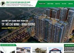 website Bất Động Sản Công ty cơ khí xây dựng hưng lộc phước
