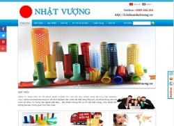 website công nghiệp Công ty TNHH mtv tm nhựa Nhật Vượng