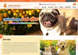 website dịch vụ Công ty TNHH Dịch Vụ Đầu Tư Xuất Nhập Khẩu Minh Quân