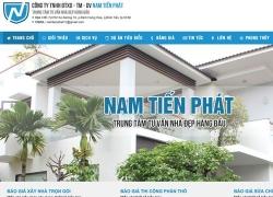 website dịch vụ Công ty Tnhh Đtxd-Tm-Dv Nam Tiến Phát