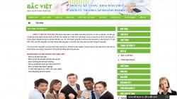 website dịch vụ Công Ty Tnhh Kế Toán Bắc Việt
