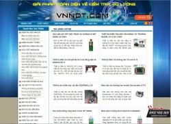 Mẫu website dịch vụ của CÔNG TY TNHH VNNDT