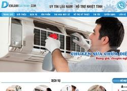 website điện lạnh dienlanhgiathanh.com do web số thiết kế