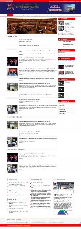 Mẫu website giáo dục 13489