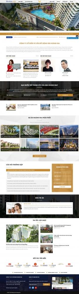 Mẫu website giới thiệu công ty 1088